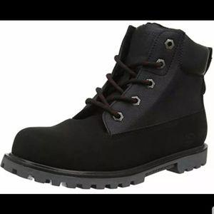 Skechers Mecca Adventure Black Boots boys Sz 1